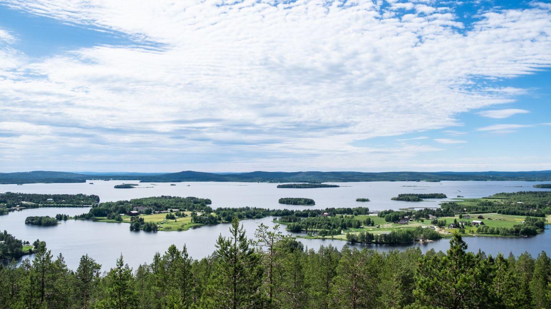 Kemijärvi maisema