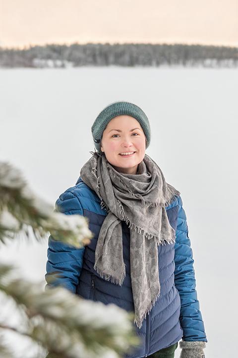 Pellossa asuva psykologi Minna Koski