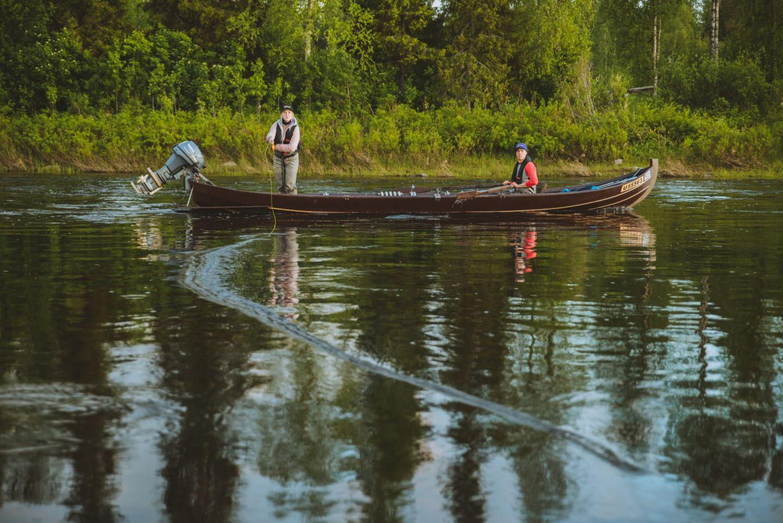 Flyfishing in Pello