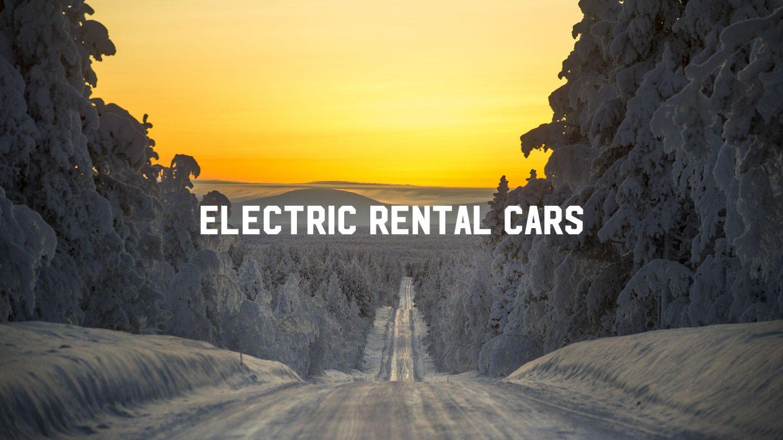 Electric rental cars