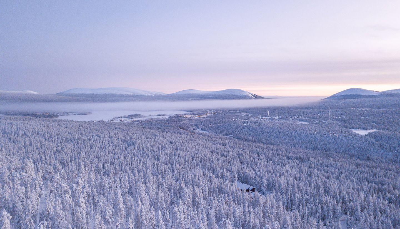 Winter in Lapland, Finland