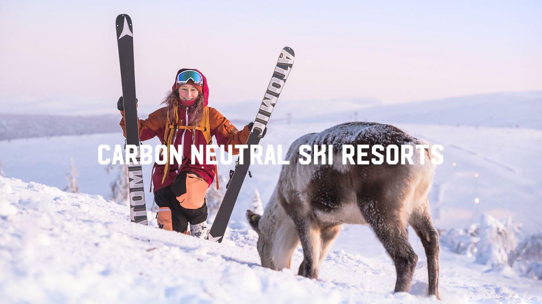 Carbon neutral ski resorts