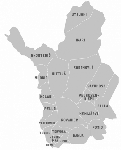 Municipalities in Lapland as business and investment environment