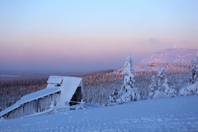 Amethyst mine in Luosto, Lapland Finland
