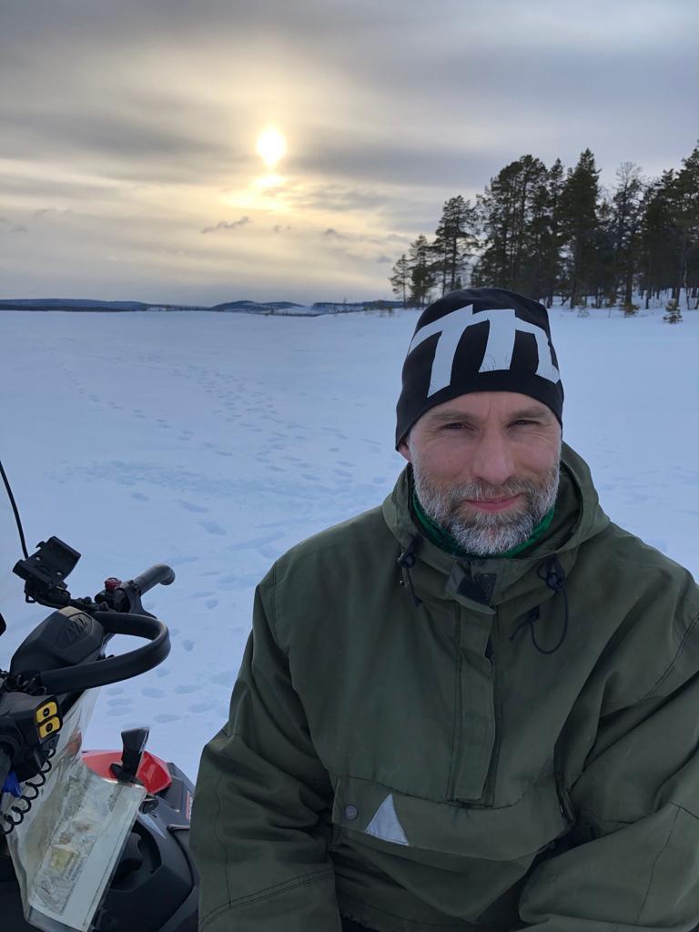Metsähallituksen kenttäpäällikkö Alexander Kopf