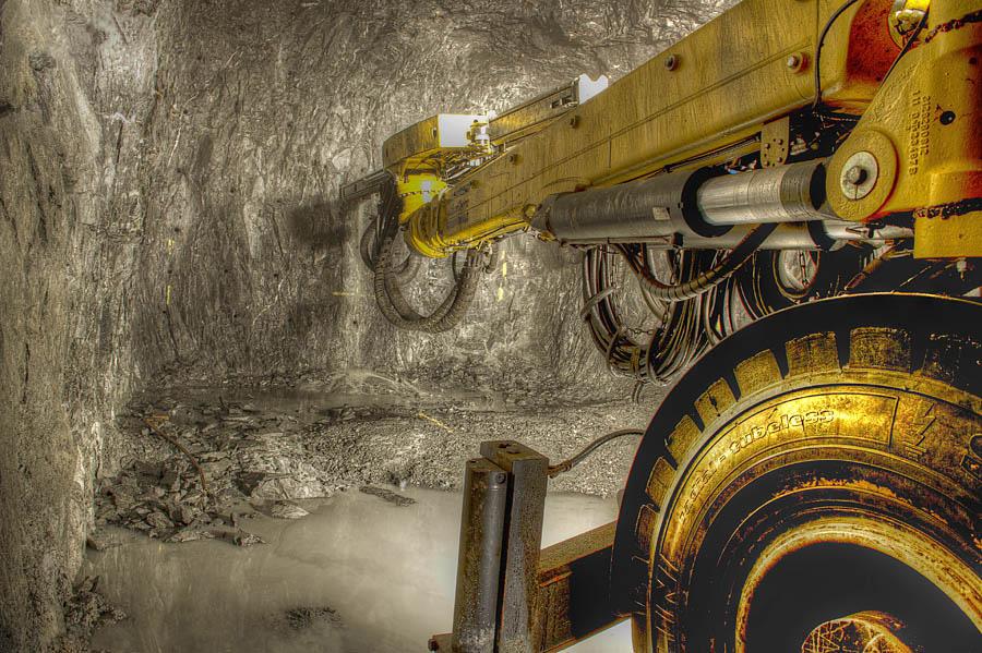 Agnico Eagle mine in Kittilä Lapland