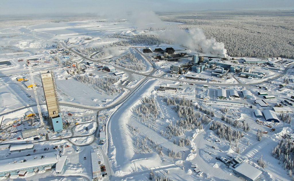 Agnico Eagle mine in Kittilä
