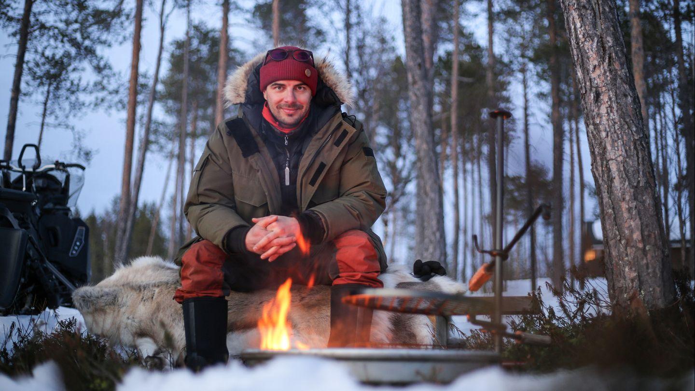 Ivalossa asuva matkailuyrittäjä Ilkka Kurikka