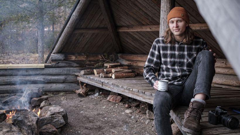 Visit Rovaniemen sisällöntuottaja Toni Eskelinen