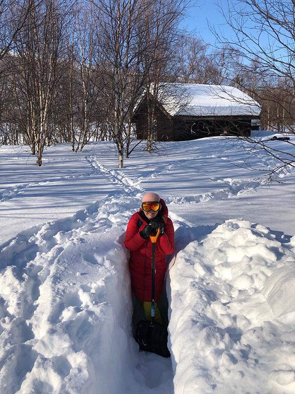 Luminen talvi Tenolla