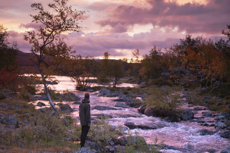 Autumn colors in Kilpisjärvi, Finland