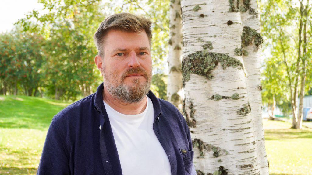 Marko Touru perusti yrityksensä, Tankavaaran Kultakylän, Sodankylään 2013.