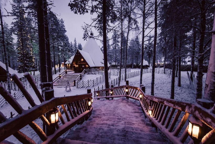 Santa Claus Village in Rovaniemi, Lapland, Finland