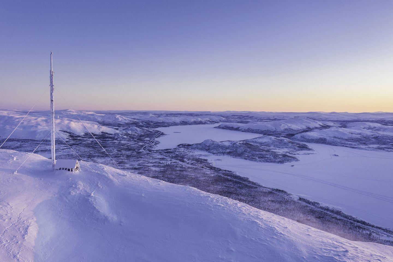 Saana Fell in Kilpisjärvi, Enontekiö, Lapland, Finland