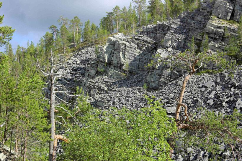 Aittakuru in Pelkosenniemi, Lapland, Finland