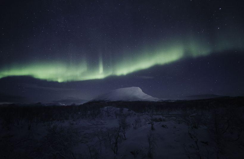 Saana Fell in Kilpisjärvi, Lapland, Finland