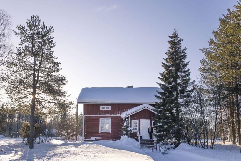 Leanteri Museum in Saija, Salla, Lapland, Finland