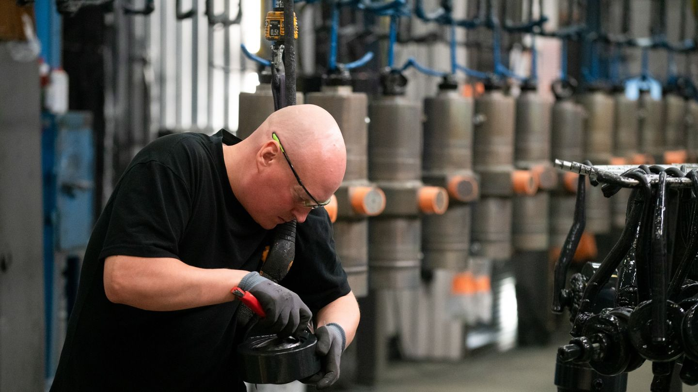 Norrhydro on valmistanut hydraulisylintereitä jo 35 vuotta.