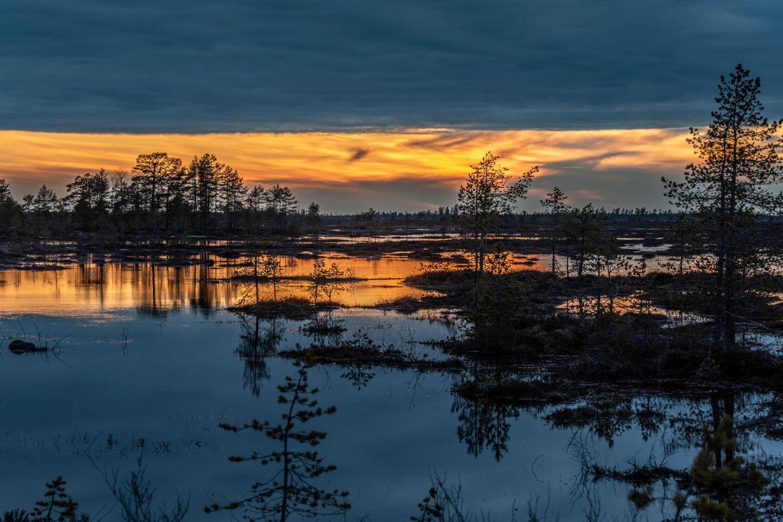 Heinisuo in Ranua, Lapland, Finland