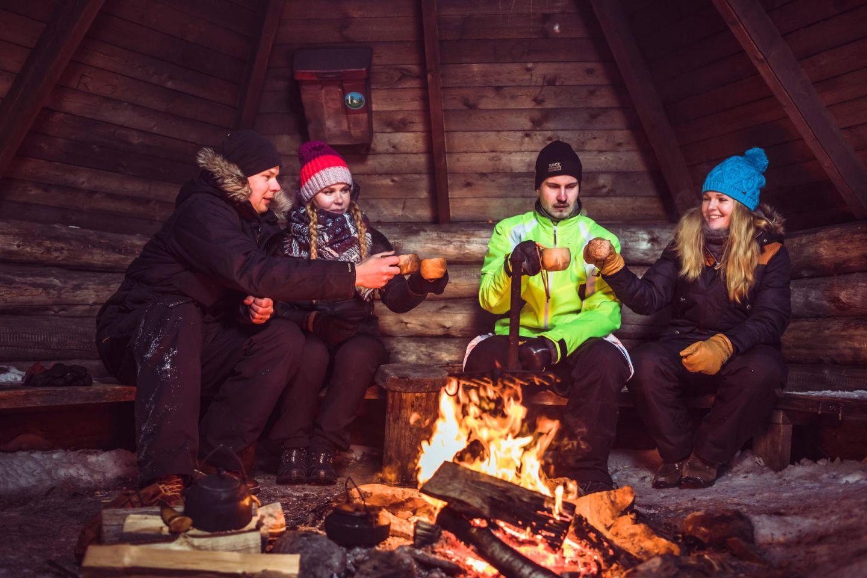 Christmas Bucket List: winter campfire in Sodankylä, FInland