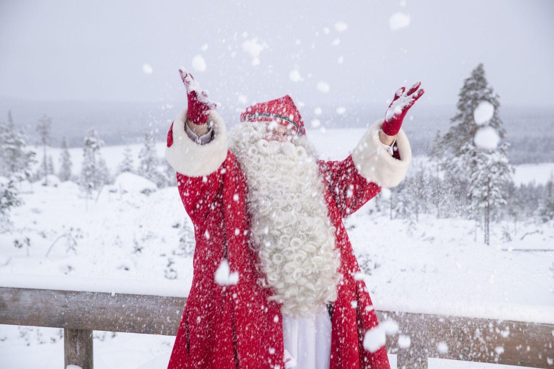 Christmas Bucket List: Santa celebrates mid-winter