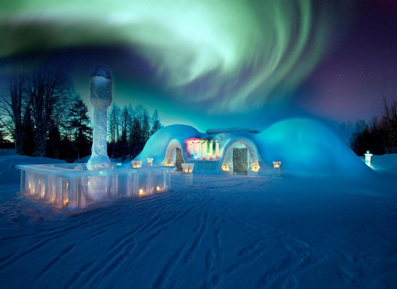 Christmas Bucket List: Ice restaurant in Rovaniemi, Finland