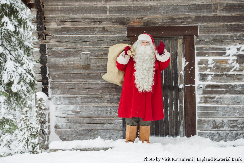 Christmas Bucket List: Santa knocking at your door