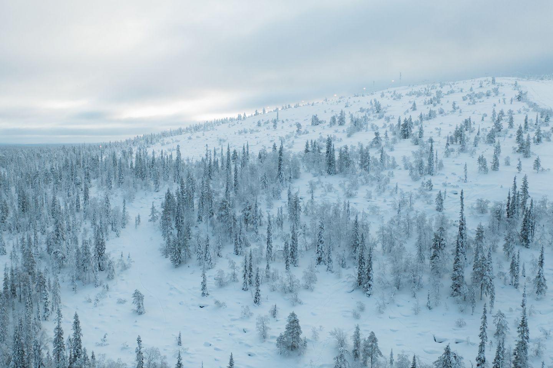 Sallatunturi, Salla, Lapland, Finland