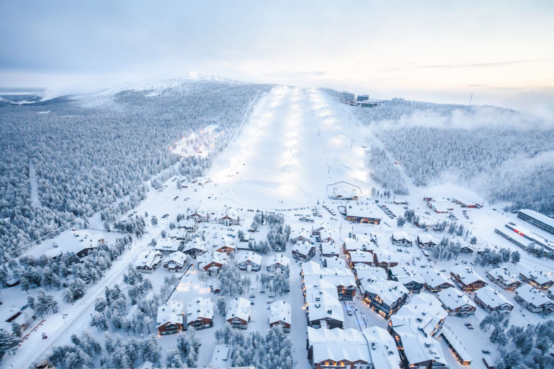 Levi ski resort in Kittilä, Lapland, Finland