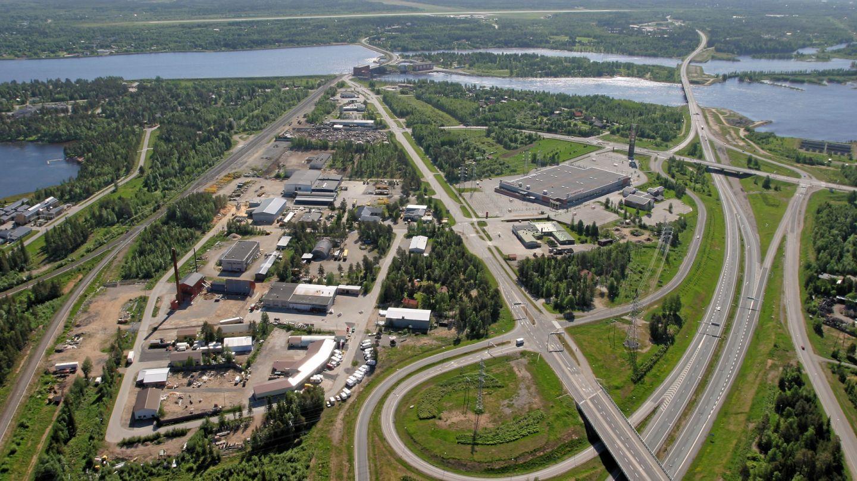 Aerial photo of Keminmaa