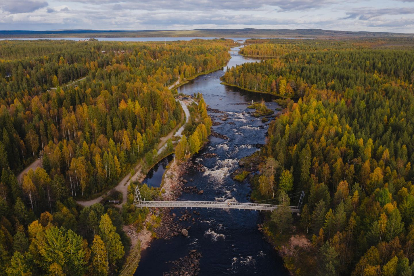 An autumn day in Lapland, Europe's last wilderness