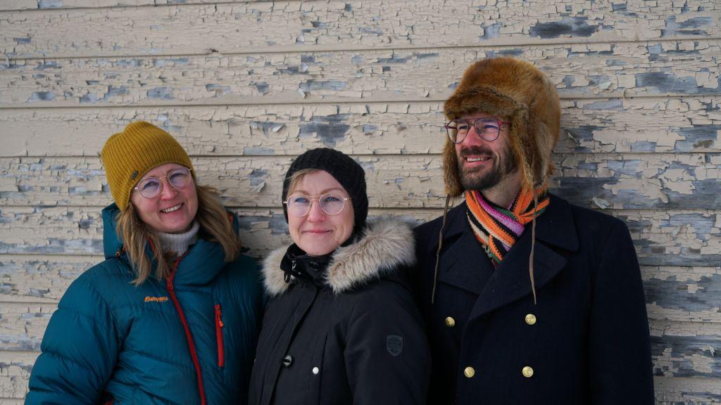 Managing Director Ilkka Kauppinen (right), Product Manager Katja Misikangas, Sales and Marketing Manager Tuija Kauppinen (left)
