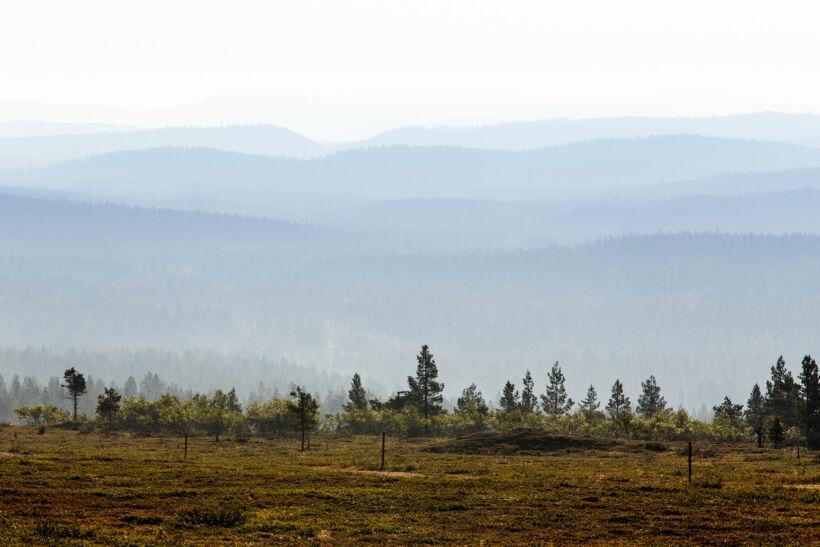 Kaunispää in Inari, Lapland, Finland