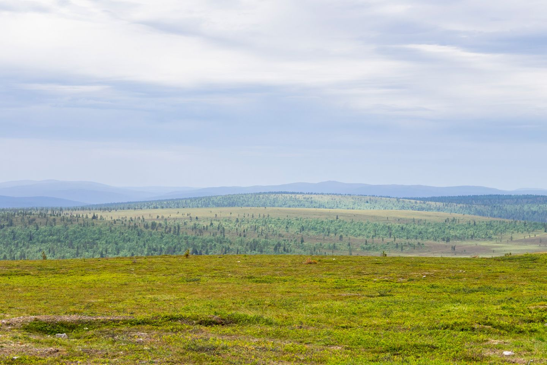 Kaunispää Fell in Inari, Lapland, Finland