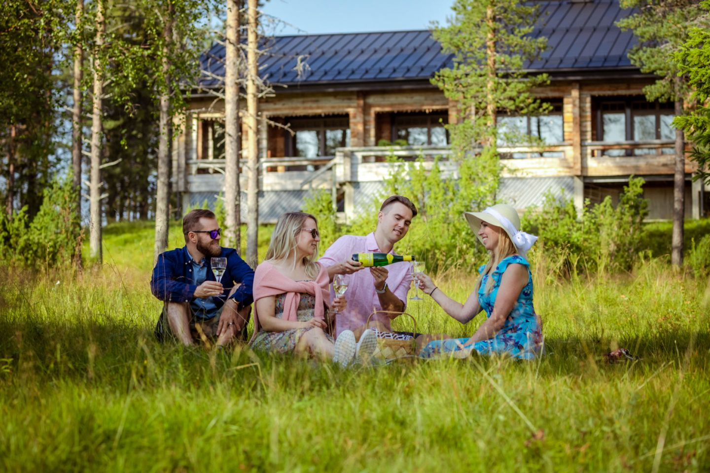 Sunday Morning Resort in Pyhä-Luosto, Finland, a special summer accommodation in Lapland