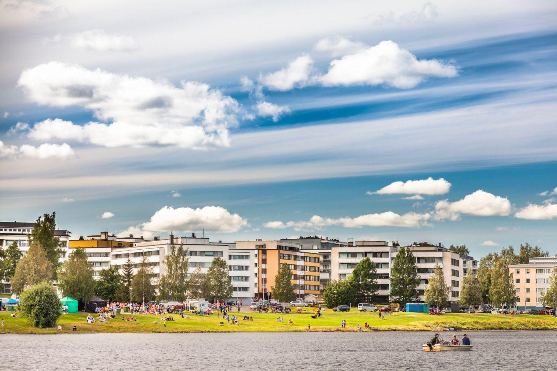 Rovaniemi Traditional Market Festival in Finland