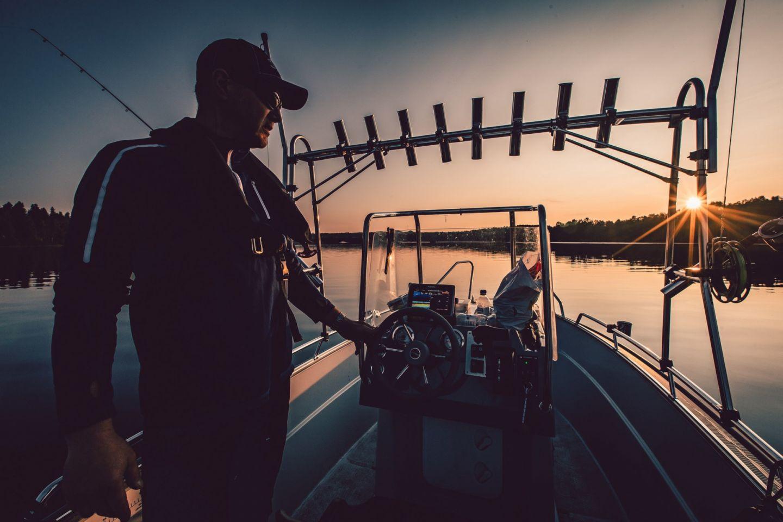 Fishing under the Midnight Sun in Rovaniemi, Finland