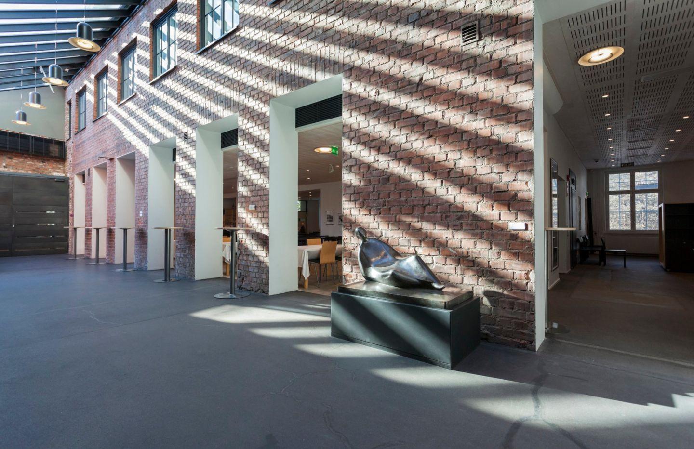 Inside Korundi House of Culture in Rovaniemi, Finland