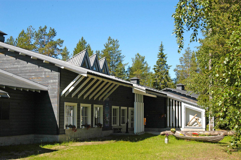 Samperin Savotta hotel in Savukoski, Finland, a special summer accommodation in Lapland