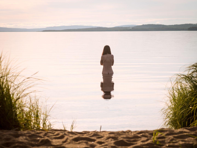 Alternative beach holiday in Finnish Lapland