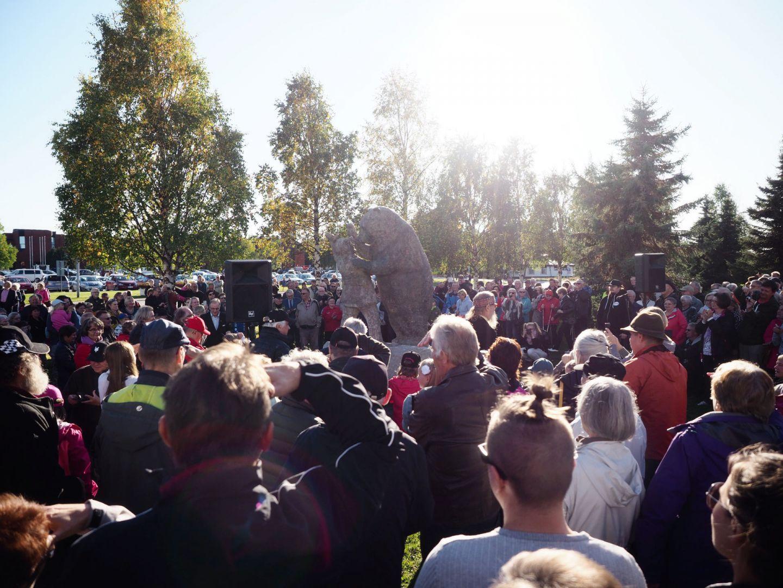 A local celebration in Ruka-Kuusamo, Finland