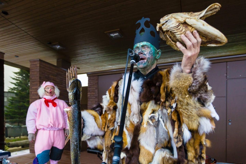 A local festival in Kemijärvi, Finland