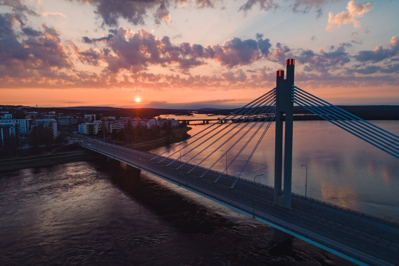 Midnigh Sun in Rovaniemi