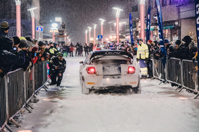 Arctic Rally in Rovaniemi, Finland