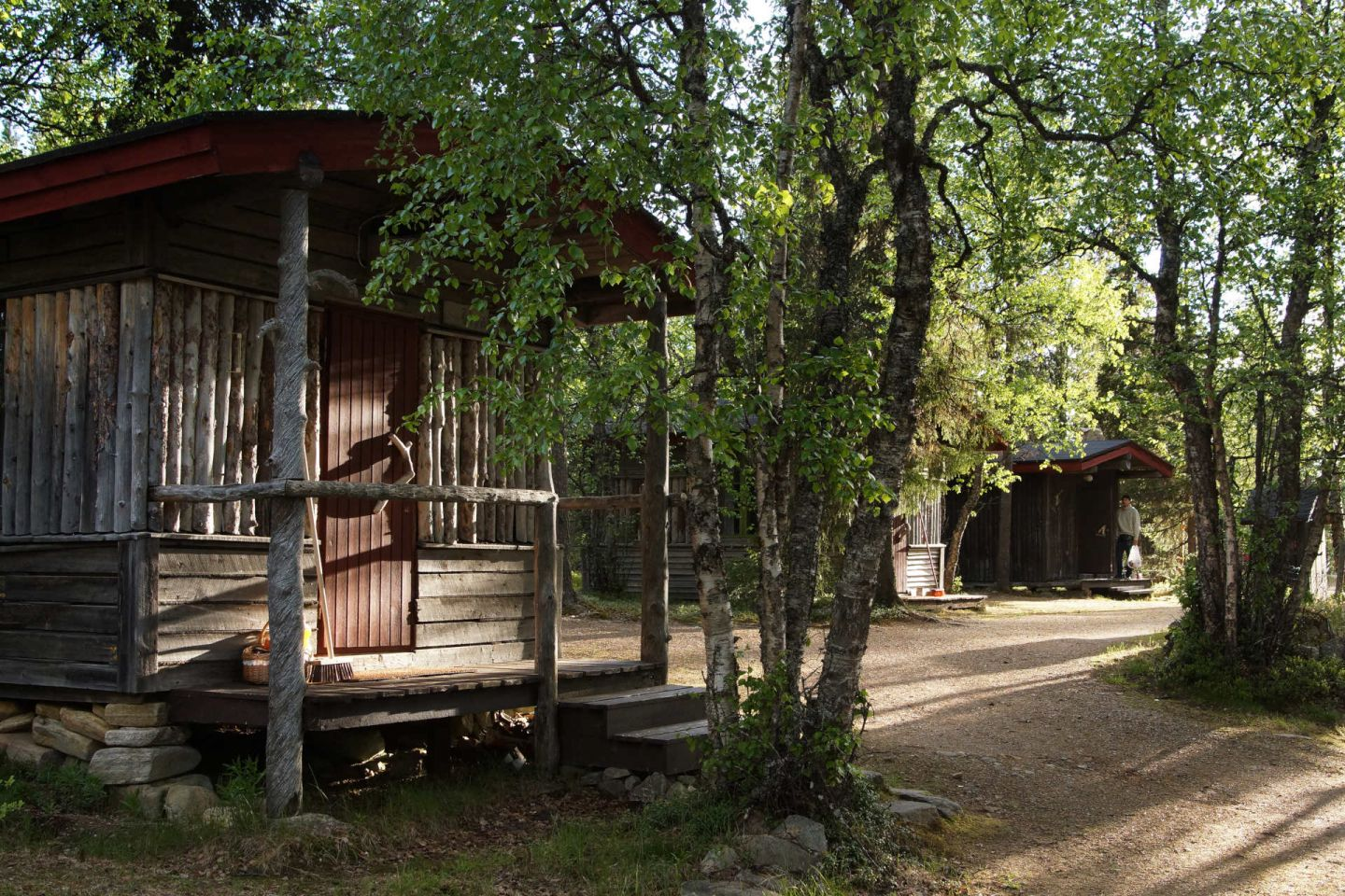Tankavaara Gold Village in Sompio, Finland, a special summer accommodation in Lapland