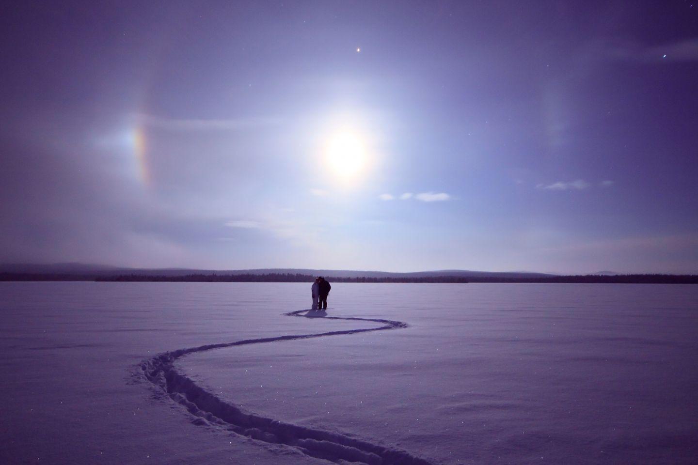 Slow travel in Finnish Lapland