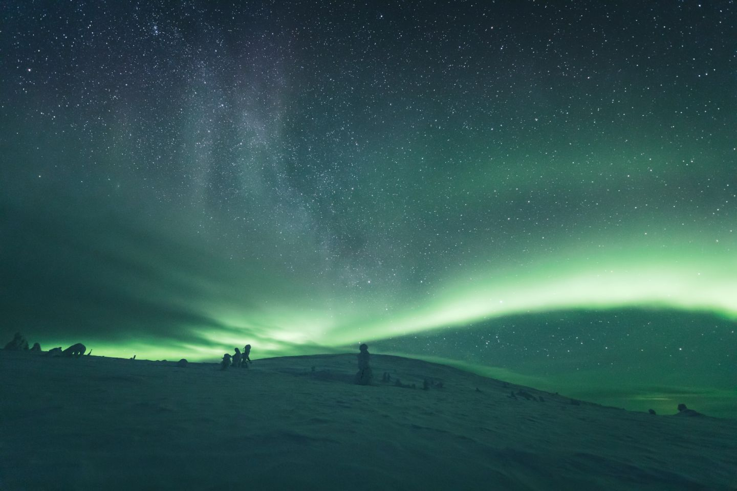 Northern Lights ... the perfect reason to slow down and enjoy your travel to Finnish Lapland
