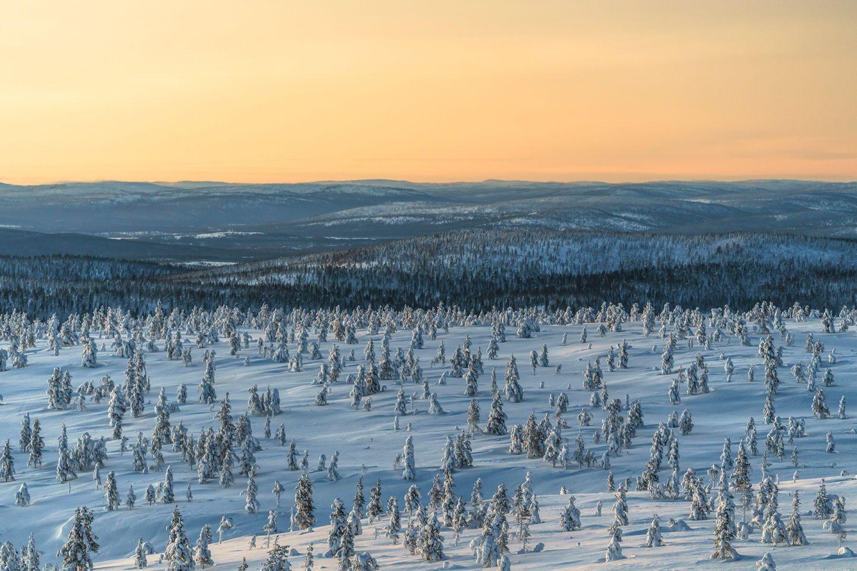 Kurupää in Inari, Lapland, Finland