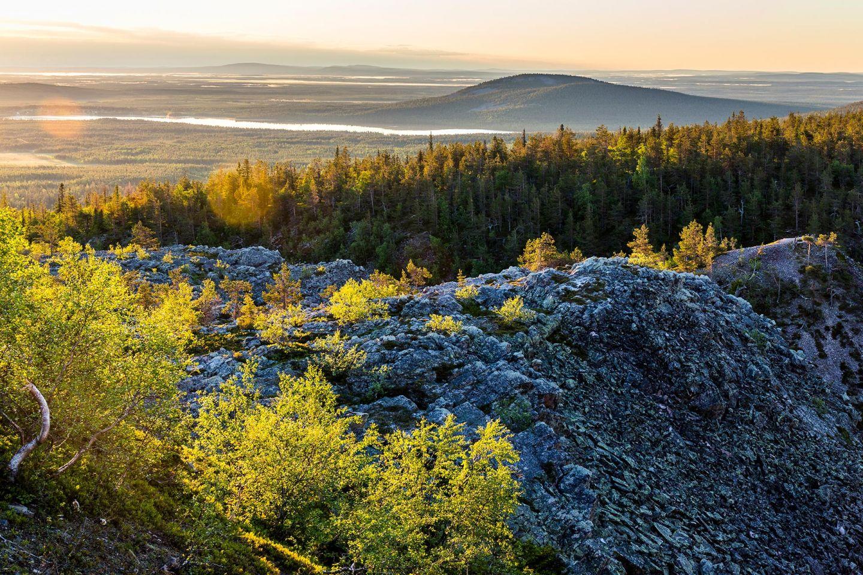 Atop fell in Pyhä