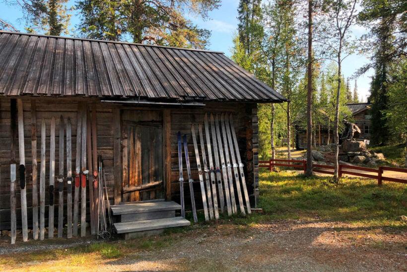 Gold Museum in Tankavaara, Sodankylä, Lapland, Finland